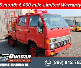 FOR SALE: 1991 TOYOTA HIACE IN CHRISTIANSBURG, VIRGINIA