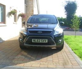USED 2012 FORD KUGA DIESEL ESTATE NOT SPECIFIED 118,000 MILES IN BLACK FOR SALE   CARSITE