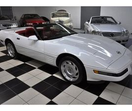 1991 CHEVROLET CORVETTE ONLY 17K*PRIVATE COLLECTION*CARFAX *CONVERTIBLE