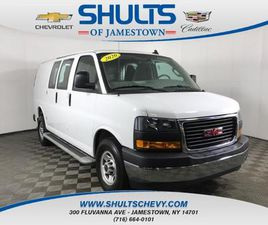 WHITE COLOR 2020 GMC SAVANA 2500 FOR SALE IN JAMESTOWN, NY 14701. VIN IS 1GTW7AFG3L1198104