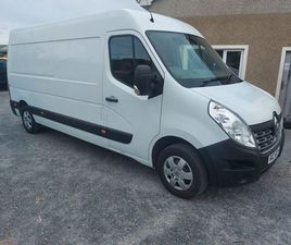 2016 RENAULT MASTER BUSINESS PLUS L3H2 FOR SALE IN DOWN FOR £9,950 ON DONEDEAL