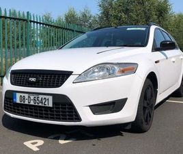 2008 ESTATE FORD MONDEO BLACK & WHITE EDITION FOR SALE IN KILDARE FOR €2,999 ON DONEDEAL