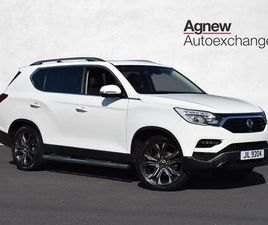 SSANGYONG REXTON ULTIMATE 2.2 5DR