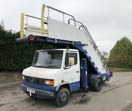 MERCEDES 811D PRE VARIO AIRCRAFT STEPS ONLY 7000 MILE FROM NEW 1 OWNER FROM NEW