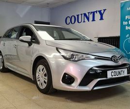 2016 TOYOTA AVENSIS 1.6D-4D ACTIVE TOURING SPORTS 5D - £7,795