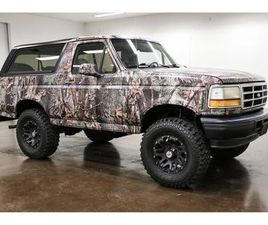 FOR SALE: 1996 FORD BRONCO IN SHERMAN, TEXAS