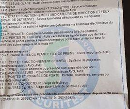 FIAT ULYSSE POUR PIÈCES OU RÉPARATION POUR CT