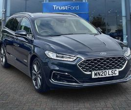 FORD MONDEO ** VIGNALE 2.0 HEV 185PS WITH FULL LEATHER SEATS ** 5DR