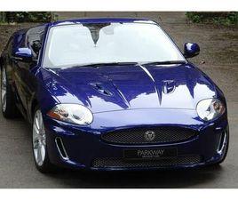 2011 JAGUAR XKR 5.0 S/C CONVERTIBLE AUTO - £41,995
