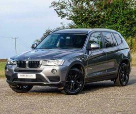 2017 BMW X3 2.0 20D SE AUTO XDRIVE 5DR SUV DIESEL AUTOMATIC