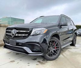 2017 MERCEDES-BENZ GLS63 AMG SUV, BLACK BEAUTY!! ONLY 8280 KMS!