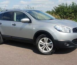 NISSAN QASHQAI +2, 2012 4X4 FOR SALE IN CORK FOR €8,400 ON DONEDEAL
