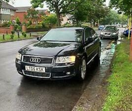 05 AUDI A8 3.7 QUATTRO, EVERY POSSIBLE EXTRA