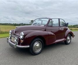 USED 1957 MORRIS MINOR - CONVERTIBLE 49,312 MILES IN BURGUNDY FOR SALE | CARSITE