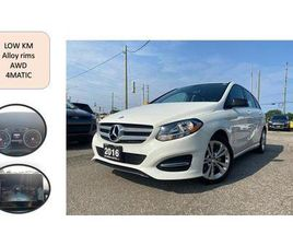 USED 2016 MERCEDES-BENZ B-CLASS 4DR HB B 250 SPORTS NO ACCIDENT 4MATIC LOW KM SAFE