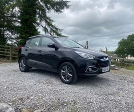 USED 2014 HYUNDAI IX35 DIESEL ESTATE NOT SPECIFIED 102,000 MILES IN BLACK FOR SALE | CARSI
