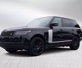 USED 2019 LAND ROVER RANGE ROVER SUPERCHARGED