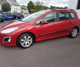2012 PEUGEOT 308 SW, SUPER CAR WITH FSH & WARRANTY FOR SALE IN CORK FOR €3,450 ON DONEDEAL