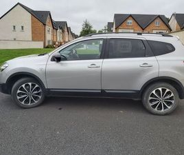 NISSAN QASHQAI +2, 7 SEATER, 1.6 DIESEL. FOR SALE IN MEATH FOR €10,000 ON DONEDEAL