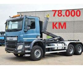 DAF CF 370 6X4 - 78.000 KM - CONTAINER SYSTEEM- CONTAINER SI
