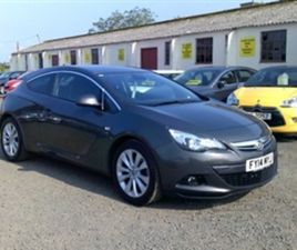 USED 2014 VAUXHALL ASTRA 1.4 TURBO GTC SRI S/S NOT SPECIFIED 81,000 MILES FOR SALE | CARSI