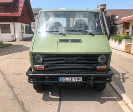 IVECO DAILY 40-10 TURBO 4X4 ALLRAD CAMPER FAHRGESTELL