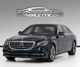 USED 2018 MERCEDES-BENZ S-CLASS S 560 LONG BASE. DVD,