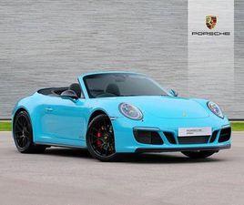 PORSCHE 911 [991] CARRERA 4 CABRIOLET GTS 2DR PDK