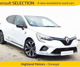 RENAULT CLIO V E-TECH HEV 140 MY20 5DR FOR SALE IN DONEGAL FOR €27,900 ON DONEDEAL