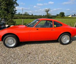OPEL GT 1972 FOR SALE IN DONEGAL FOR €18,995 ON DONEDEAL
