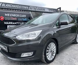 2019 FORD C MAX TITANIUM 1.0T 125PS FOR SALE IN DUBLIN FOR €18,495 ON DONEDEAL