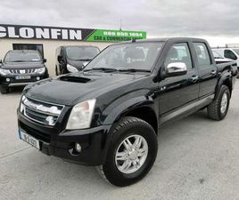 2010 ISUZU DMAX 3.0L 5 SEATER DOUBLE CAB FOR SALE IN LONGFORD FOR €10,750 ON DONEDEAL