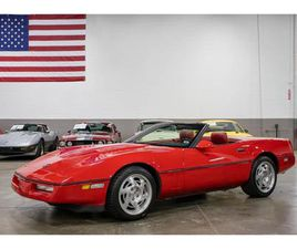FOR SALE: 1990 CHEVROLET CORVETTE IN KENTWOOD, MICHIGAN