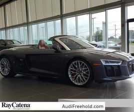 GRAY COLOR 2018 AUDI R8 5.2 FOR SALE IN FREEHOLD TOWNSHIP, NJ 07728. VIN IS WUAVACFX5J7900
