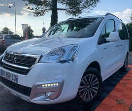 PEUGEOT PARTNER TEPEE 1.6 BLUEHDI 100CH STYLE 1ER MAIN 5PLACES
