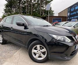 2014 NISSAN QASHQAI 1.6 DCI VISIA 4WD FOR SALE IN DUBLIN FOR €10,450 ON DONEDEAL
