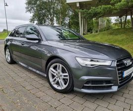 2018 AUDI A6 SLINE ULTRA 2.0 TDI 190BHP AVANT FOR SALE IN DUBLIN FOR €34,995 ON DONEDEAL