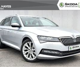 SKODA SUPERB COMBI STYLE 2.0TDI 122BHP FOR SALE IN CLARE FOR €42,500 ON DONEDEAL