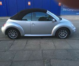 VW BEETLE CONVERTIBLE *REDUCED*