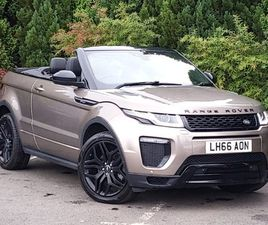 USED 2017 (66) LAND ROVER RANGE ROVER EVOQUE 2.0 TD4 HSE DYNAMIC 2DR AUTO IN GLASGOW