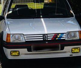 PEUGEOT 205 GTI 1,6L