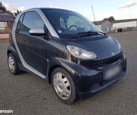 SMART FORTWO - 2010 II 52 KW COUPE WHITE & BLACK PURE MHD