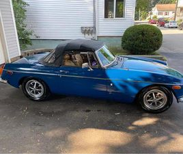 FOR SALE: 1972 MG MGB IN DURHAM, MAINE