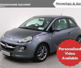 OPEL ADAM JAM 1.4 I 100PS 3DR FOR SALE IN GALWAY FOR €12,950 ON DONEDEAL