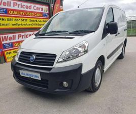 FIAT SCUDO SWB DELUXE MJET 90 FOR SALE IN DUBLIN FOR €4,750 ON DONEDEAL