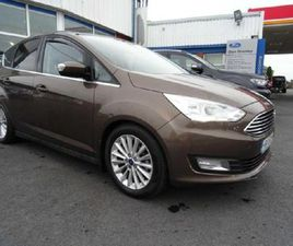 FORD C-MAX C MAX 1.5 TDCI TITANIUM FOR SALE IN LIMERICK FOR €15,950 ON DONEDEAL