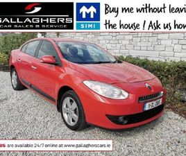RENAULT FLUENCE 1.5 DCI 110 ECO2 DYNAMIQUE FOR SALE IN DONEGAL FOR €3,950 ON DONEDEAL