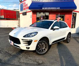 WHITE COLOR 2016 PORSCHE MACAN S FOR SALE IN PERTH AMBOY, NJ 08861. VIN IS WP1AB2A59GLB472