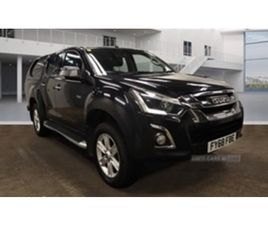 USED 2018 ISUZU D-MAX DIESEL NOT SPECIFIED 66,464 MILES IN BLACK FOR SALE | CARSITE