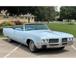 FOR SALE AT AUCTION: 1970 OLDSMOBILE 98 IN CARLISLE, PENNSYLVANIA